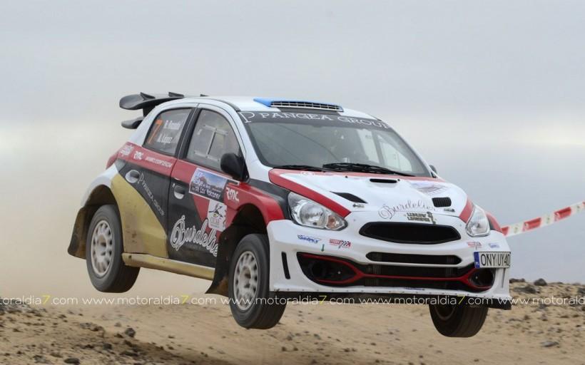 El Rally Isla de Los Volcanes en el Campeonato de España
