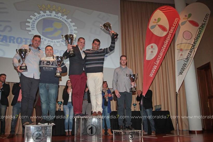 En Lanzarote ya tienen sus trofeos