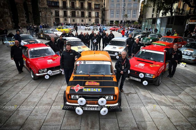 Victoria absoluta de SEAT Coches Históricos en el Rally Catalunya Históric