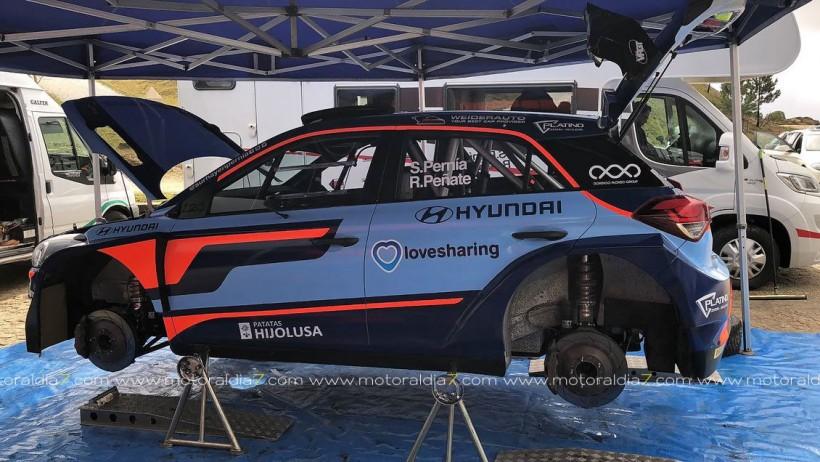 Primeras pruebas del nuevo Hyundai i20 R5