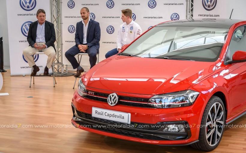 Acuerdo por dos años de Raúl Capdevila con Volkswagen Canarias