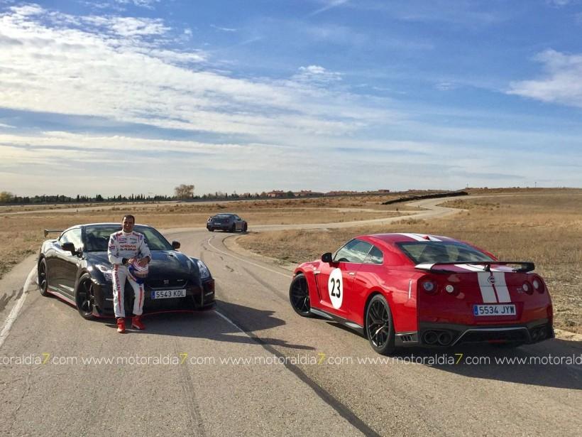El Nissan GT-R NISMO y Marc Gené, nuevo récord en el trazado del INTA