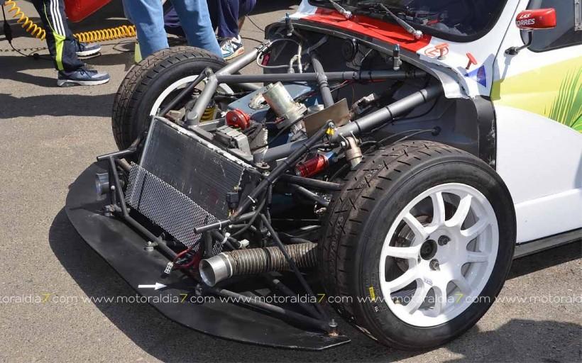 José Mari estrena motor y neumáticos