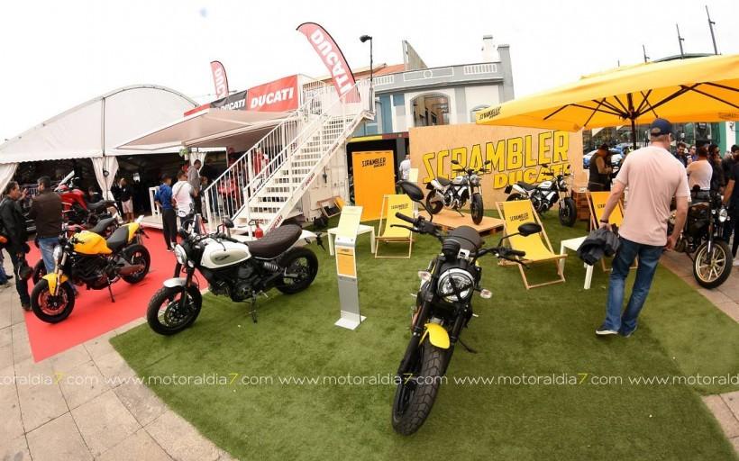 Ducati Canarias presenta la nueva Scrambler 1100