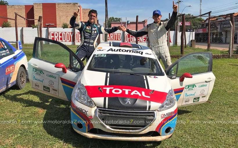 Rogelio Peñate ya prepara el Rally de Argentina