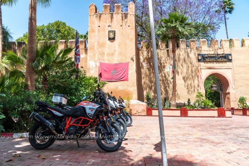 Primeros días en Marruecos