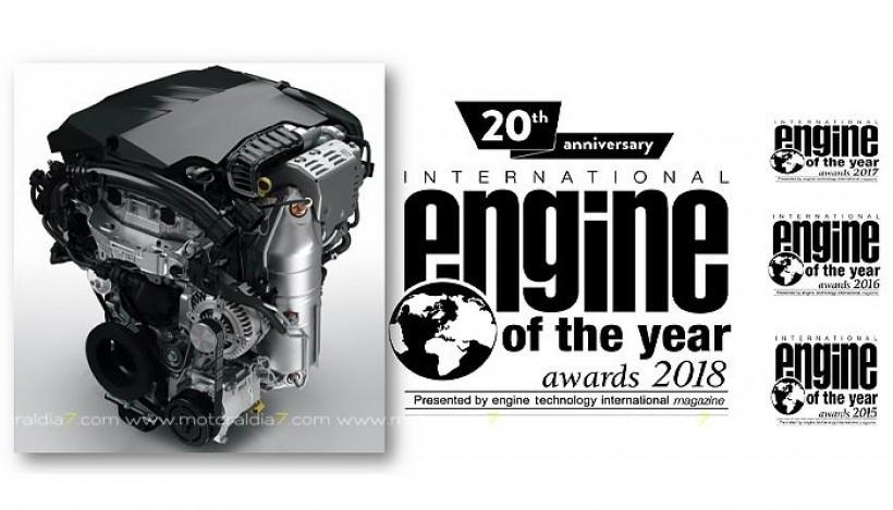 Propulsor Turbo PureTech de Groupe PSA premio mundial al motor del año