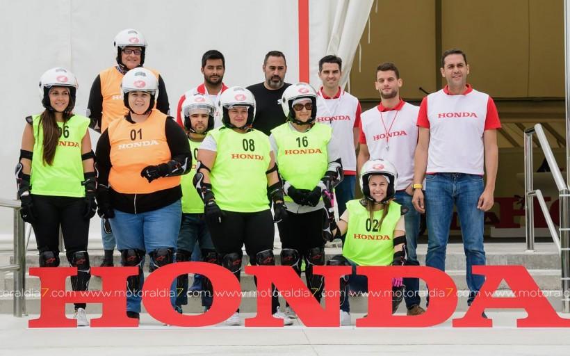 Medio centenar de moteros más, gracias a Honda Canarias