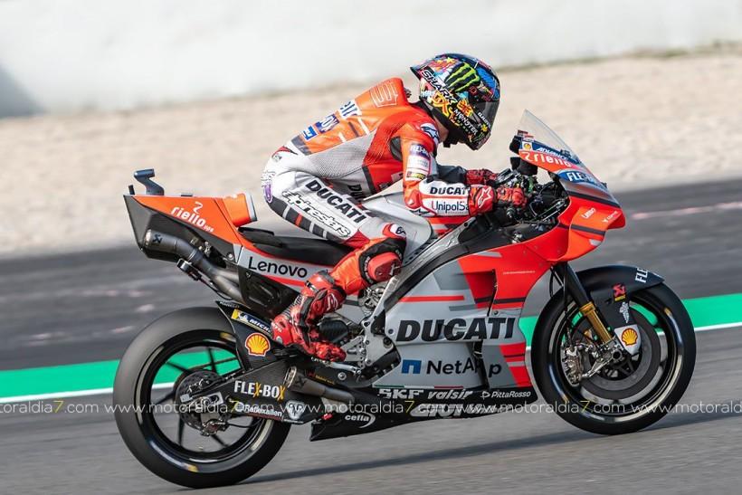 Visita al Box de Ducati.