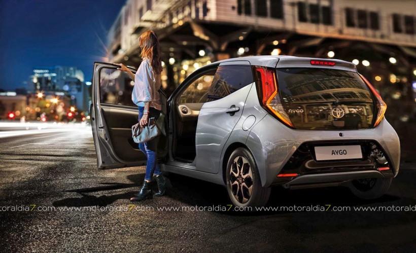 Toyota AYGO, el más seguro de su segmento.