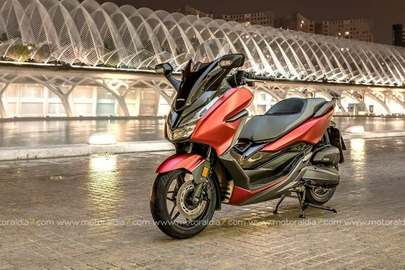 Honda Canarias anuncia la llegada de la Forza 125