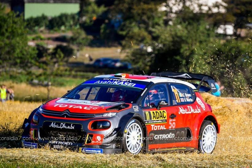 Ott Tänak, intratable con el Toyota Yaris WRC