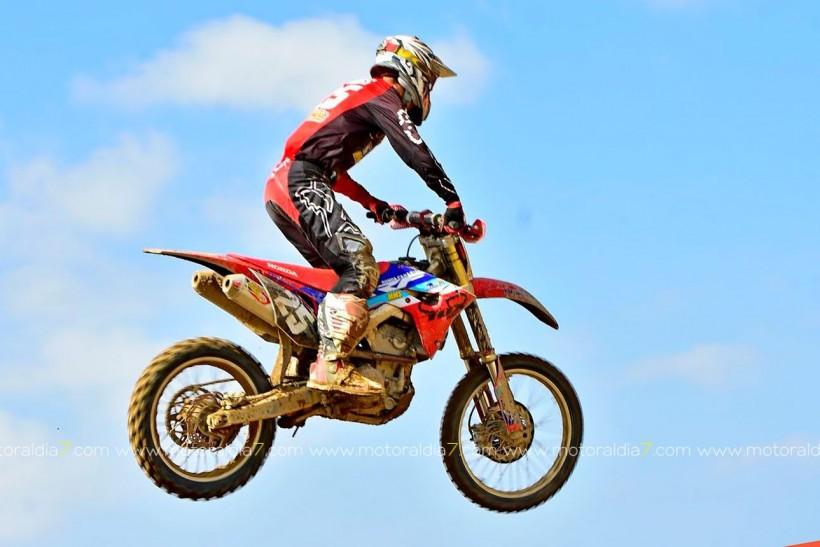 Bruno Darias se proclama Campeón de Canarias de Motocross en MX2