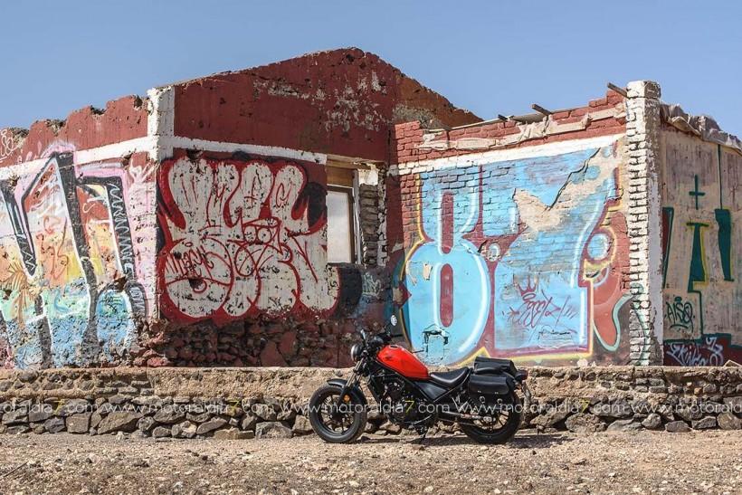 La Honda Rebel enamora en Canarias