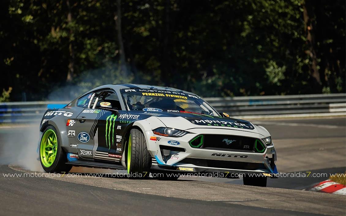 Haciendo Drift en Nürburgring
