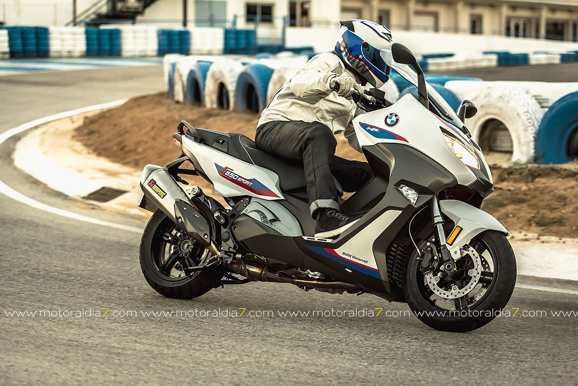 La Nueva BMW C 650 Motorsport ya está disponible