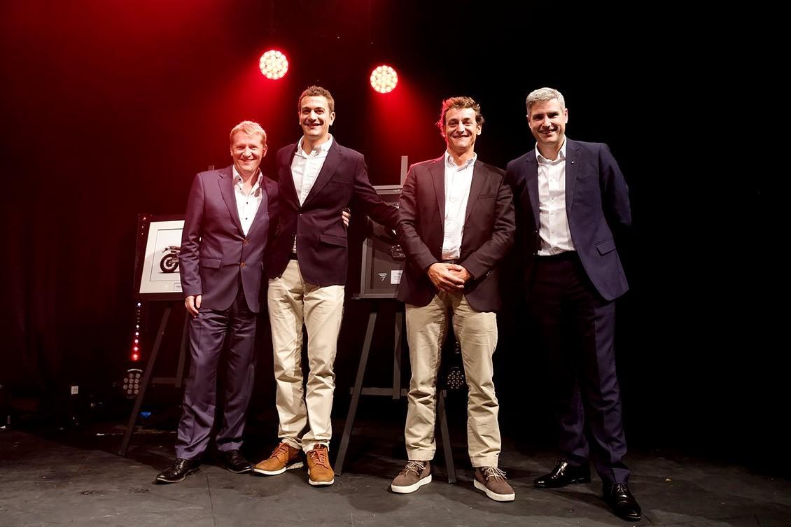 Gubra triunfa en los Global Dealer 2018 con su marca,Triumph