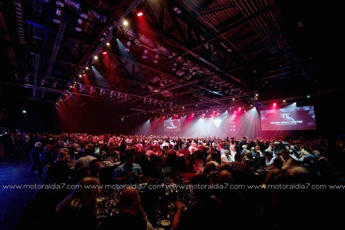 El London ExCeL acogió la pasada semana el Global Dealer Conference 2018 de Triumph Motorcycles,