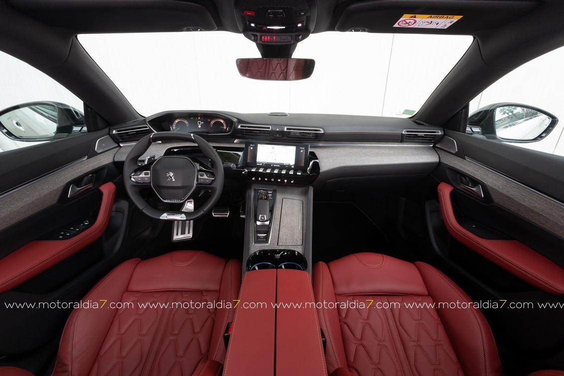 Peugeot 508, cambio de imagen y concepto