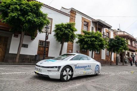 En el ElectroTour AUVE, Volkswagen protagonista