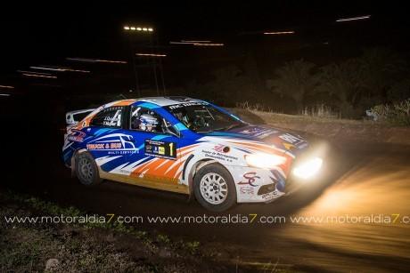 Quintana y Mujica, los mejores en el Fórmula Rally