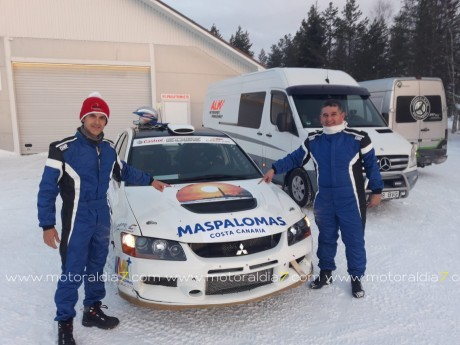 Quintana y Peñate en busca de la nieve