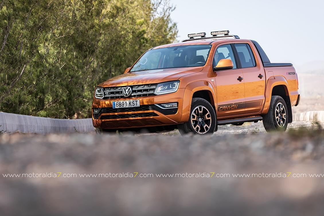 """Volkswagen Amarok V6 """"Canyon"""""""