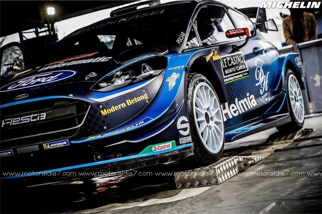 Michelin clave en el WRC