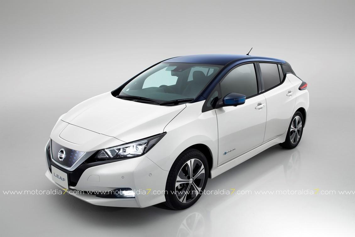 Nissan LEAF comienzo con liderato