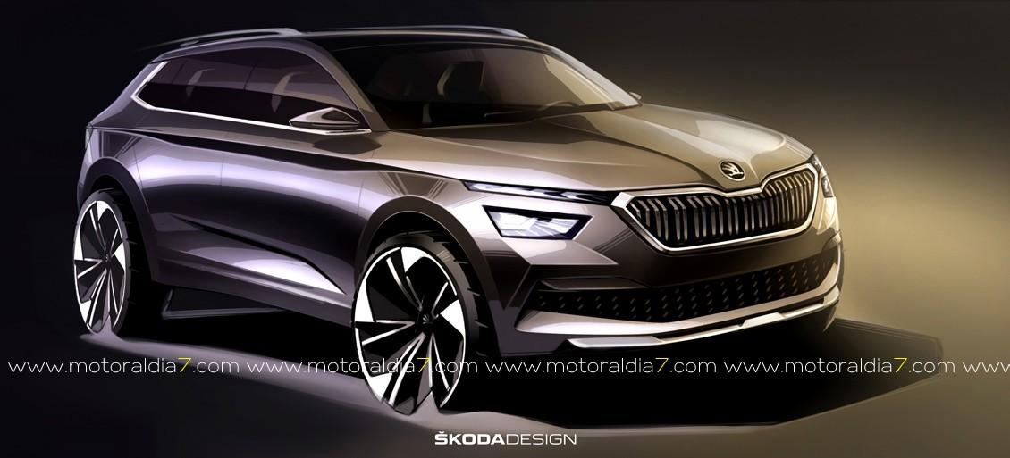 El nuevo SUV de ŠKODA a punto
