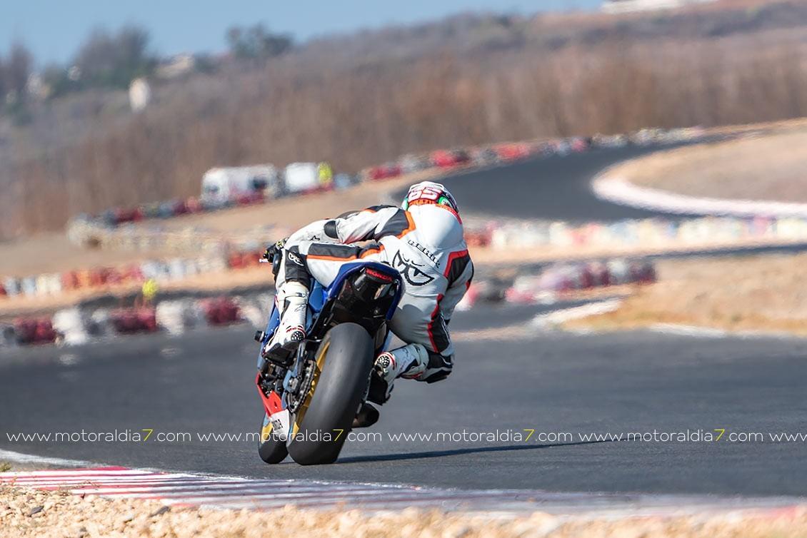 Kenny Huertas piloto de Honda Canarias, subcampeón de Canarias en la Categoría de Stock Extreme
