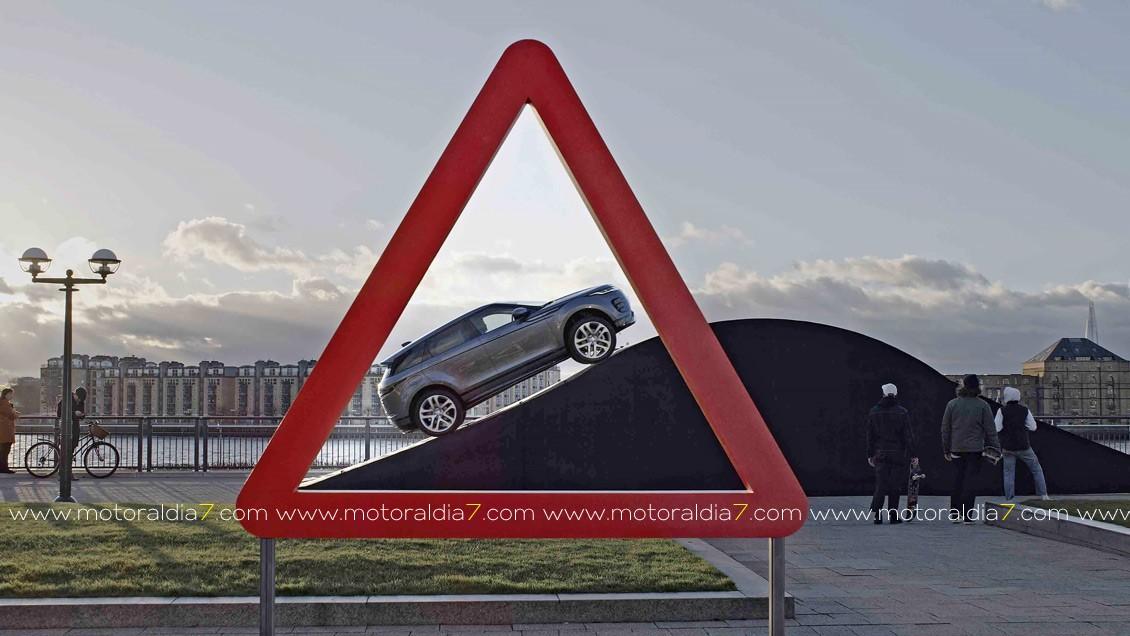 Un Evoque para las señales de tráfico