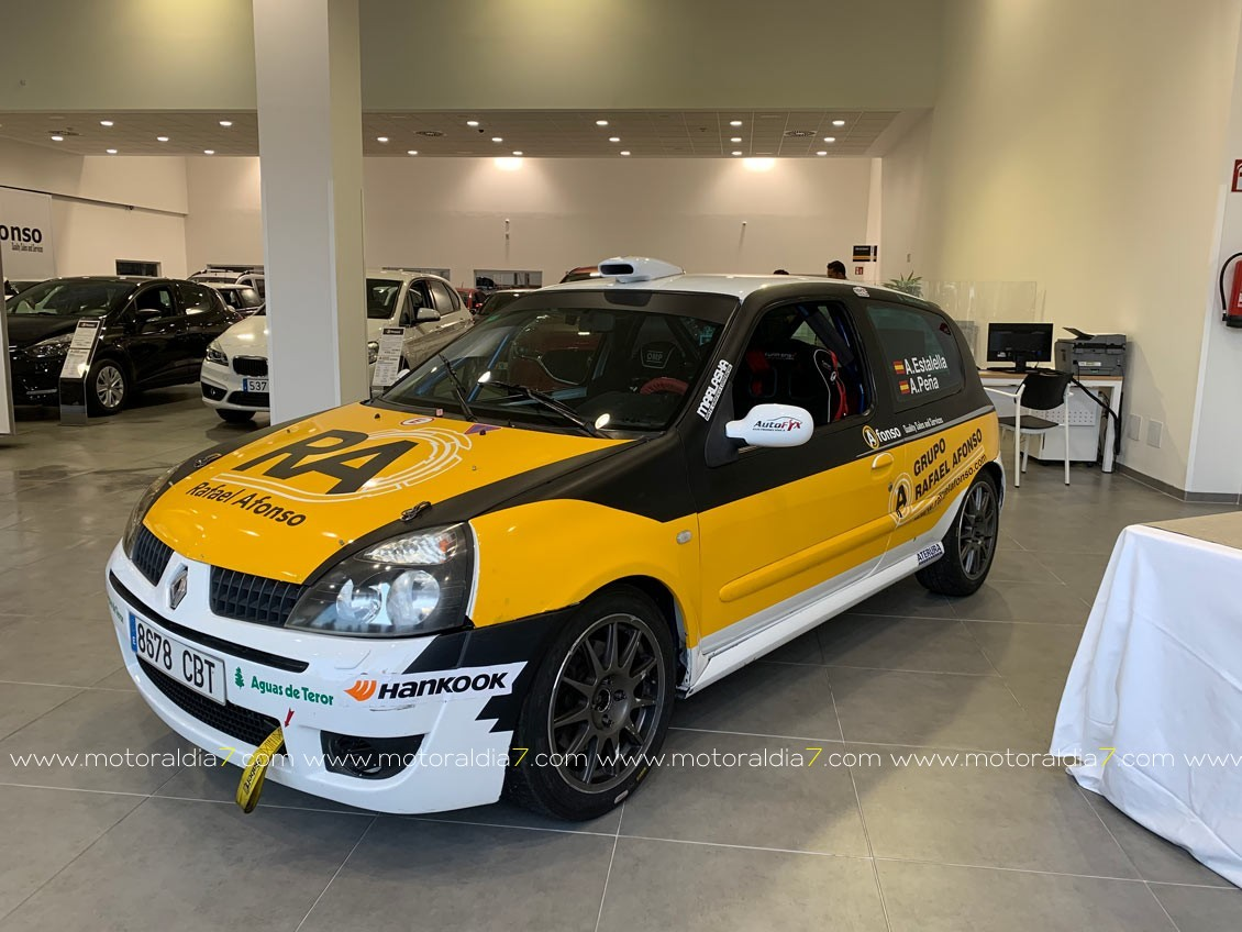Arranca el Campeonato Provincial de Rallys