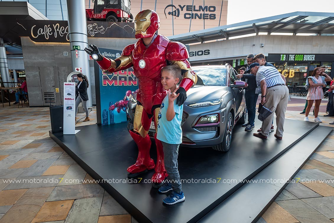 Exclusivo en Canarias, Hyundai Kona Iron Man Edition