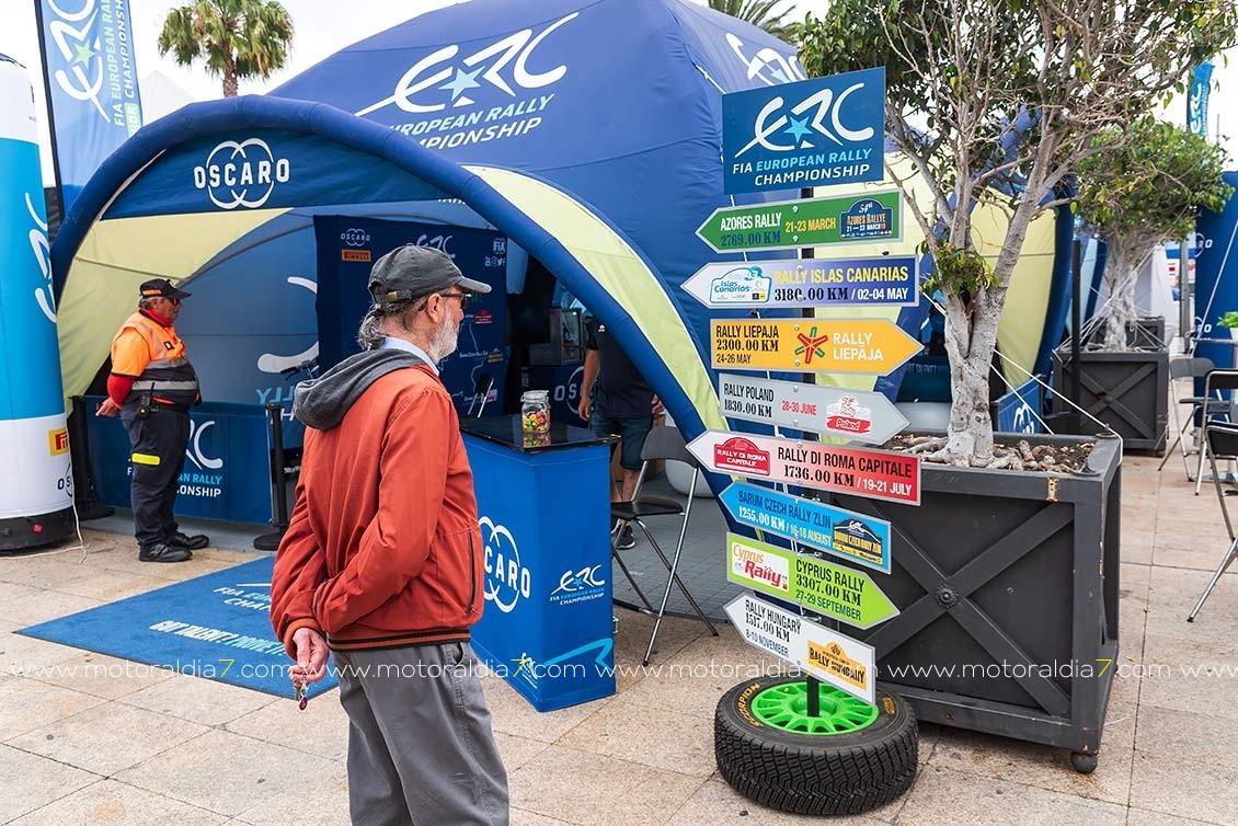 No se para en el Rally Islas Canarias