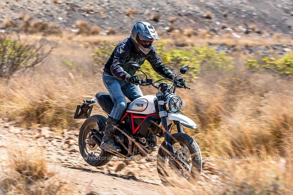 Scrambler Desert Sled 2019, subiendo el nivel