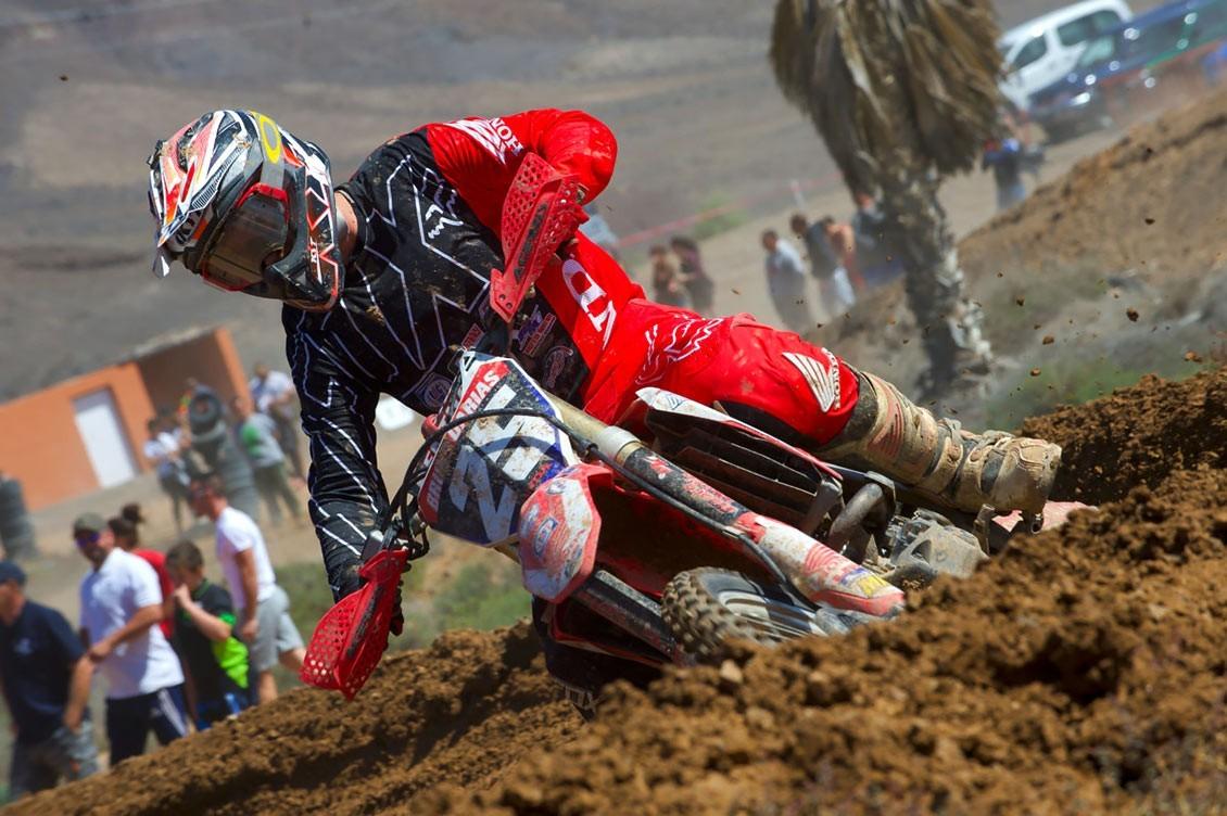 Bruno Darias en el Campeonato del Mundo de Motocross