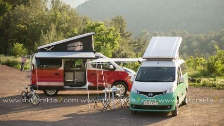Las Nissan Camper son para el verano