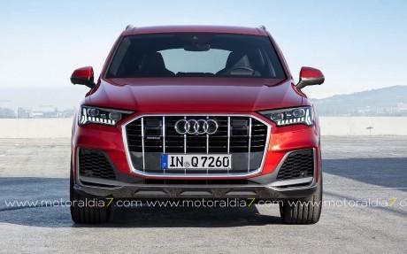 El Audi Q7 recibe una actualización general