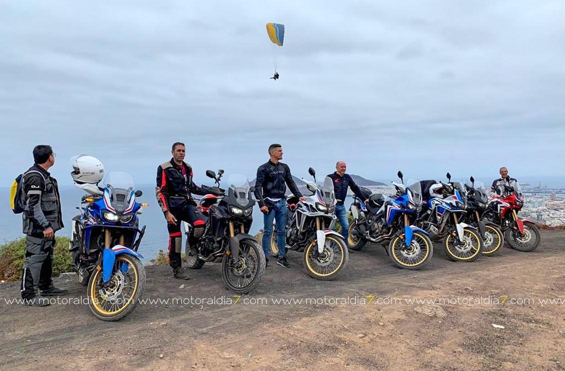 Honda Canarias celebra el I Seminario Africa Twin.
