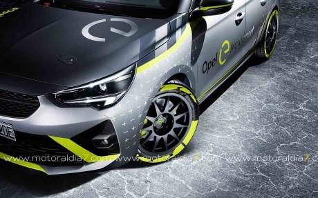 Opel Corsa-e Rally, 100% eléctrico
