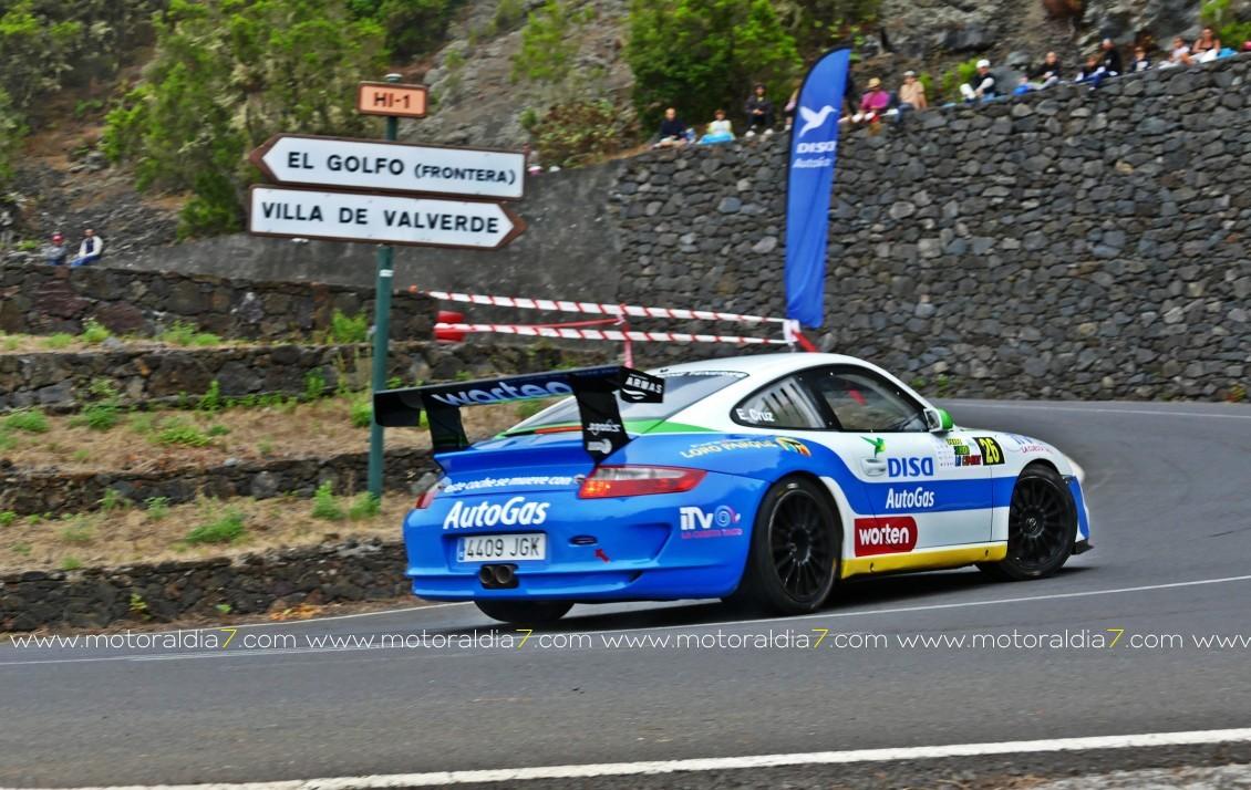 Enrique Cruz se pone primero en el Regional de Montaña