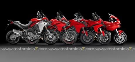La Ducati Multistrada alcanza las 100.000 unidades