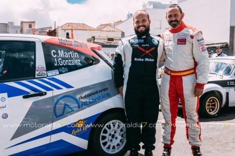 Martín-González preparados para el 45º Rally La Palma Isla Bonita