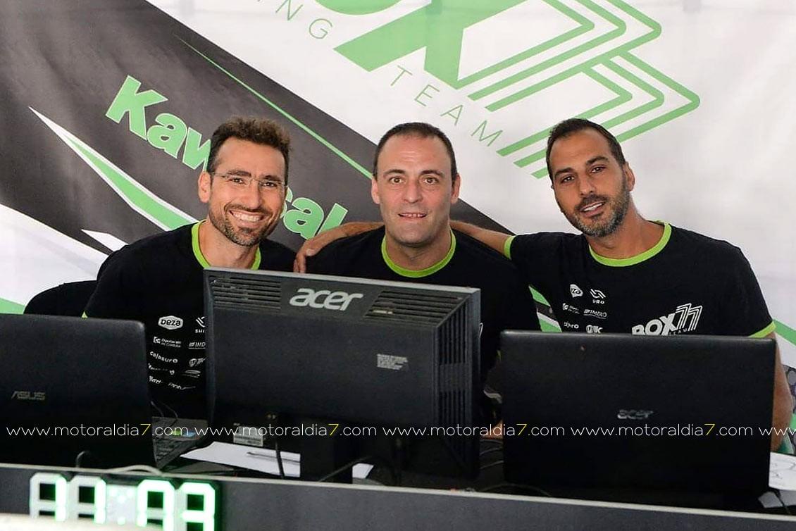 Fran Alonso afronta en Navarra la penúltima prueba del ESBK