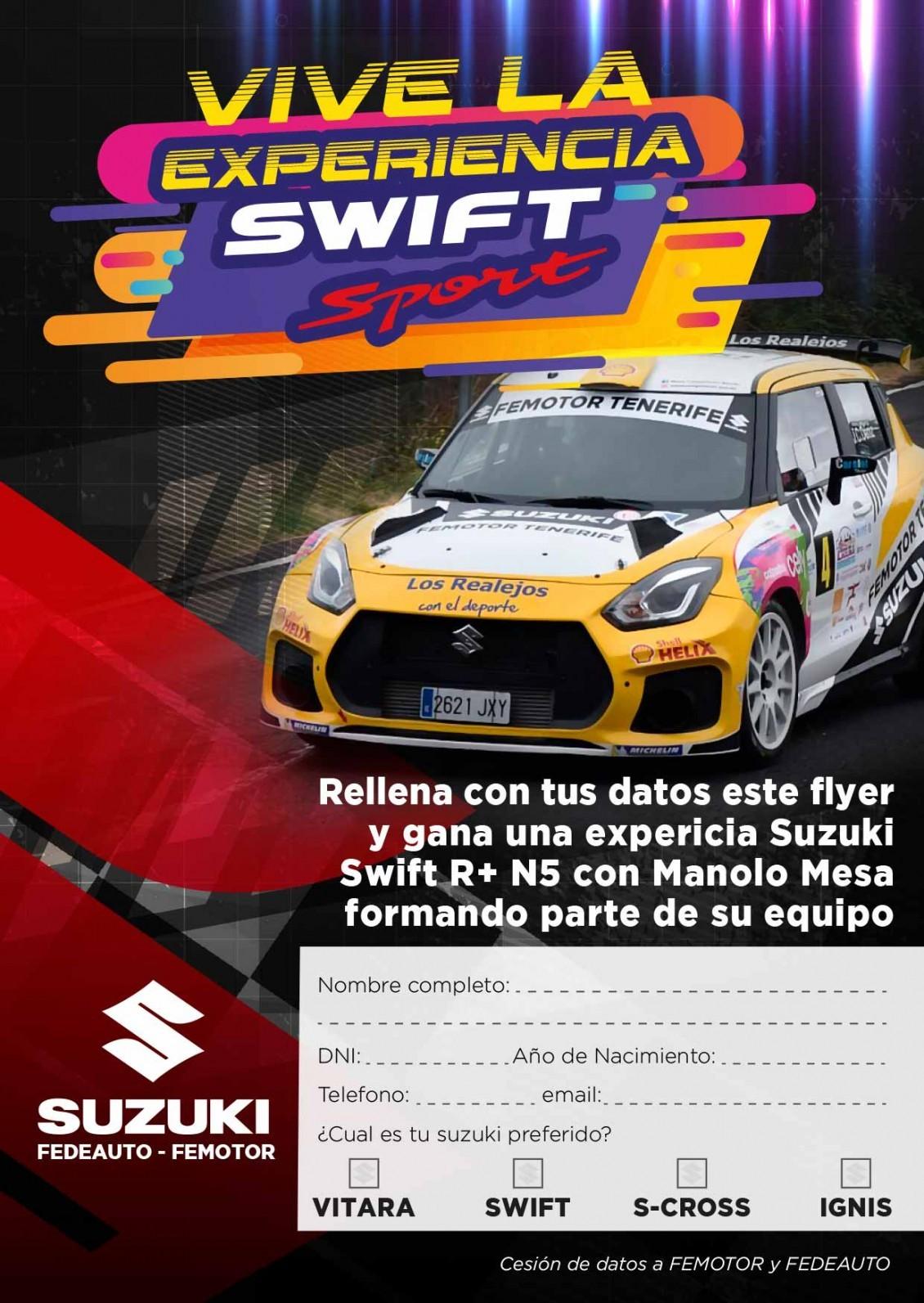Suzuki Canarias estará en la Feria del Motor