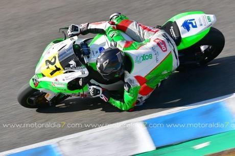 Fran Alonso sube al podio en el Campeonato Andaluz de Velocidad