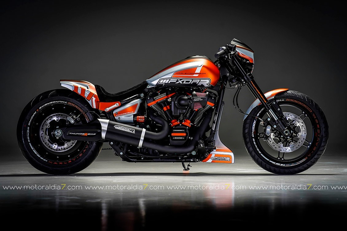 Laidlaw's Harley-Davidson se hace con el trono en el Battle of the Kings