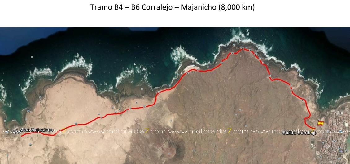 Estos son los tramos del Rally de La Oliva
