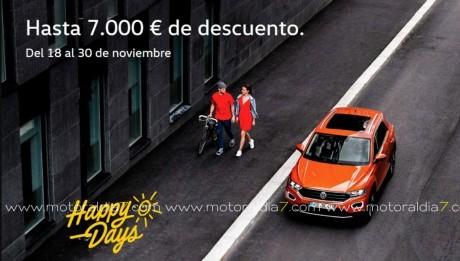 Happy Days de Volkswagen con descuentos de hasta 7.000€